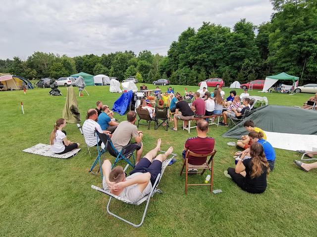 VCSE - Igen kényelmesen hallgatott tábori előadás... - Fotó: Ágoston Zsolt