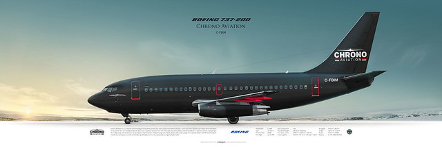 Boeing 737-200 Chrono Aviation