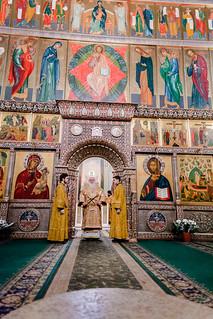 10.01.2021 | Литургия в Иверском монастыре