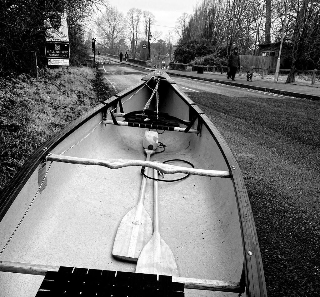 Canoe over the bridge?