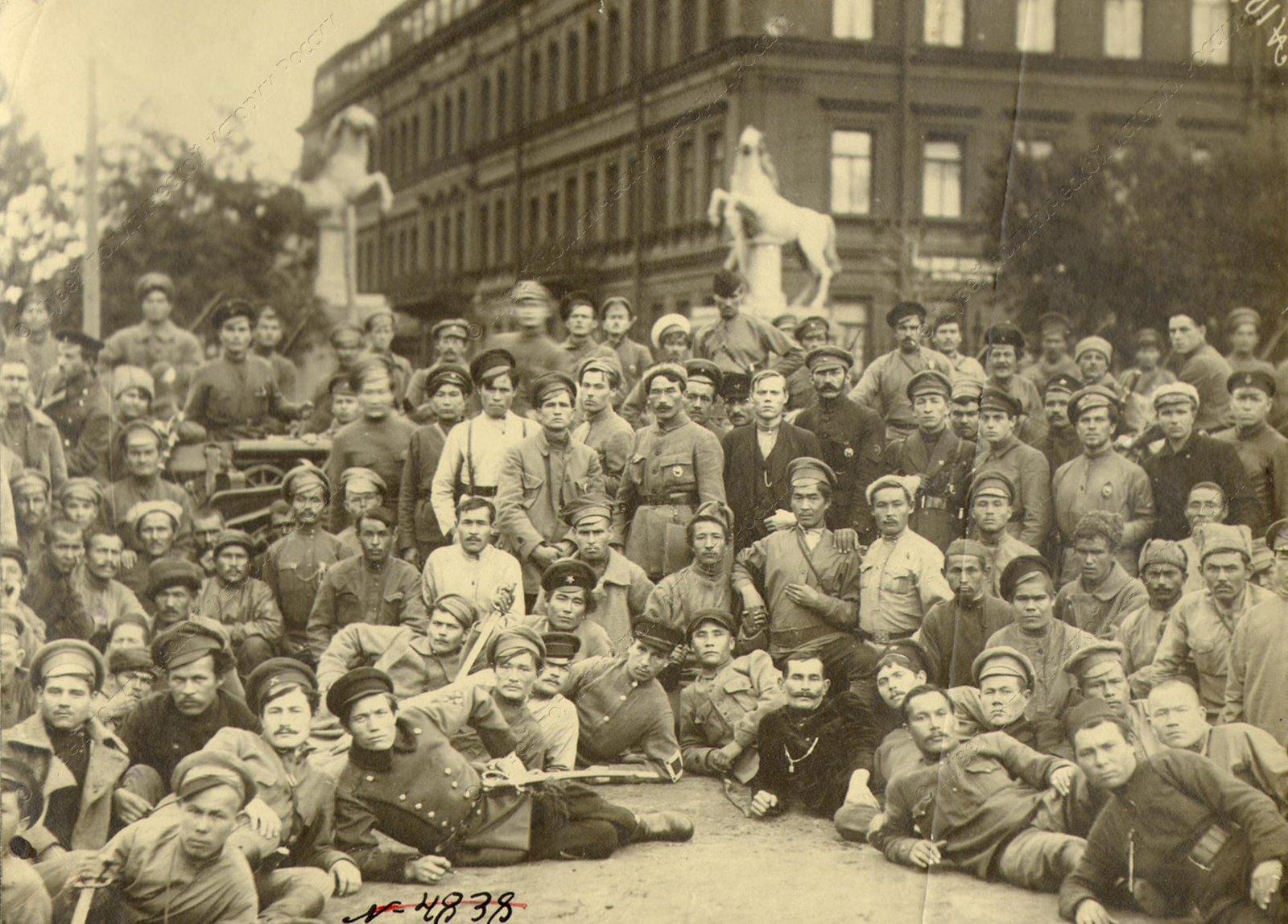 1919. Комсостав Башкирской дивизии