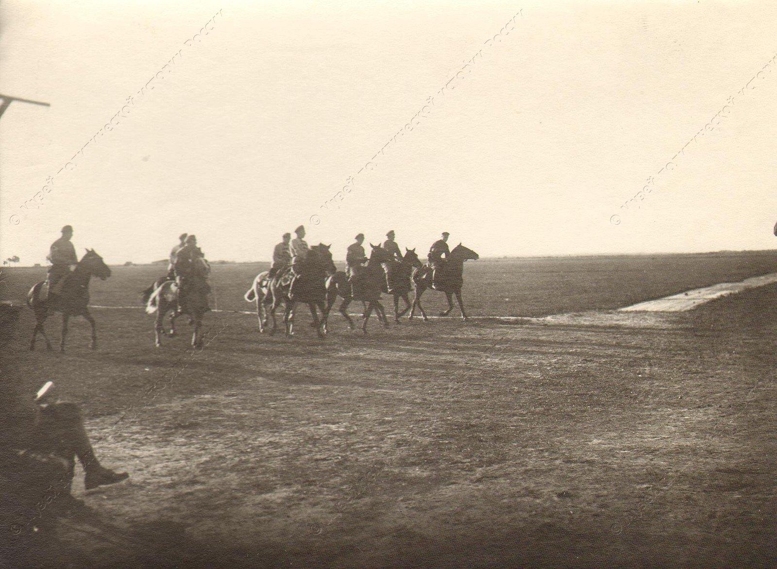 1918-1920. Отряд Красной Армии в степи