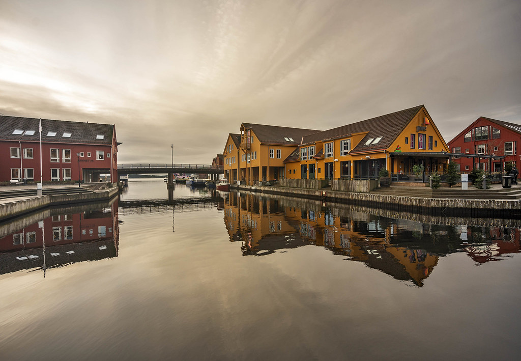 The Fish Wharf in Kristiansand, Norway