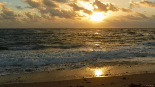 leverdusoleil sunrise pompano floride 0969 lever du soleil sur la mer over sea saariysqualitypictures