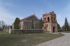 Subates Romas katoļu baznīca un zvanu tornis, 20.04.2019.