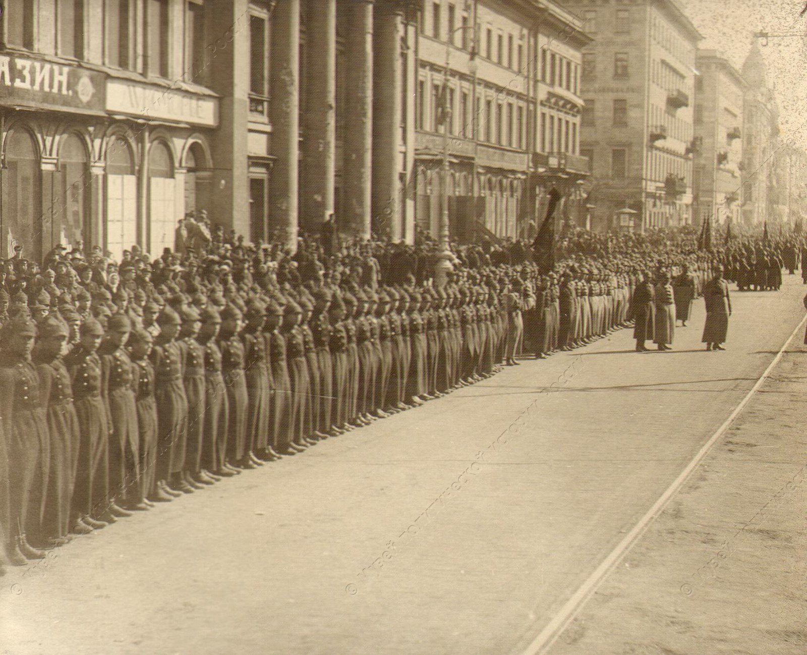 1918-1920. Войска перед парадом