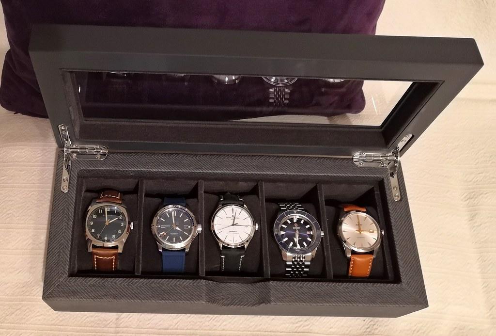 Case Elegance 5 watch box