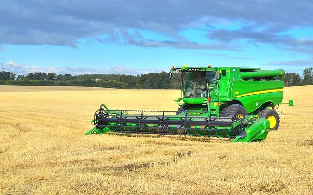 Northumberland harvester