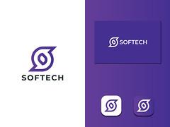 S Letter Logo - Softtech Logo (unused)