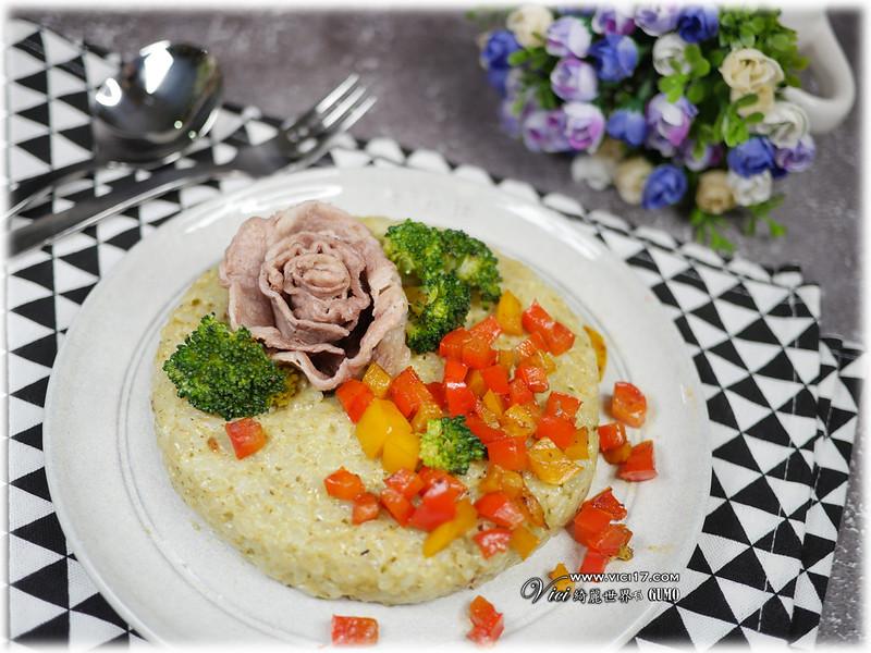 牛小排青醬焗飯112