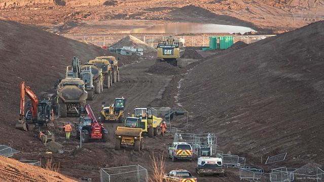 Gedling Construction Works [02]. Jan 2020