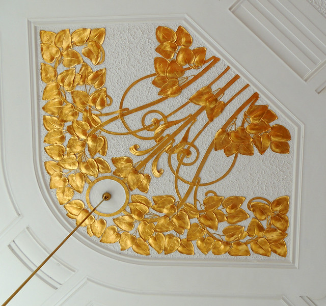 Golden detail