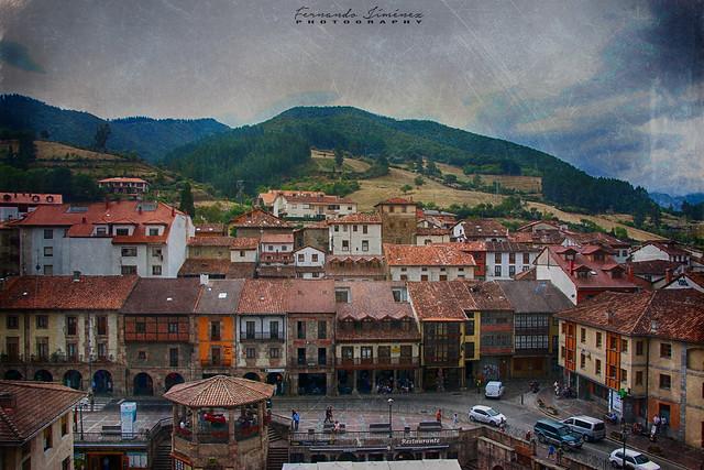 Estampa cántabra/Cantabrian print