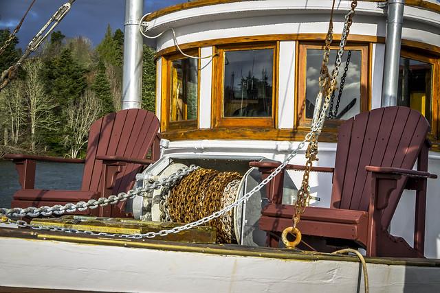 Fishboat Adirondacks