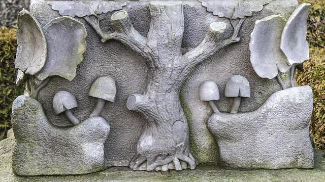 Handelsmand Peder Pedersens gravsten 4