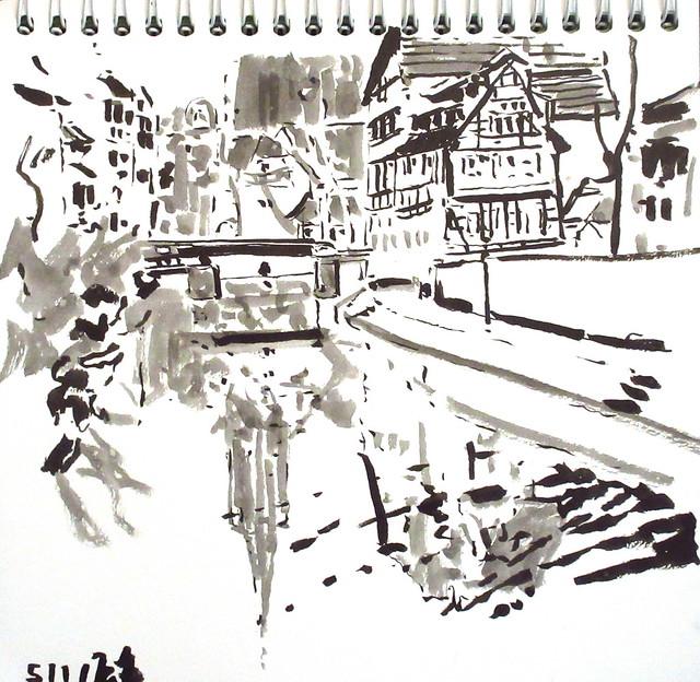 Pont du Faisan Strasbourg 5-1-2021