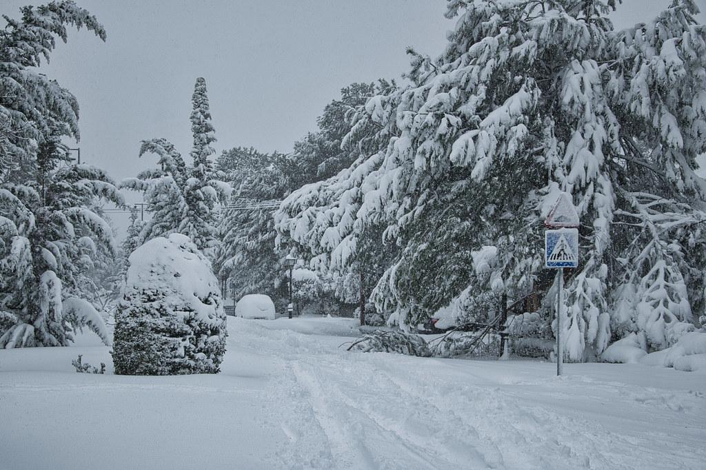 Madrid big Snowfall, 8
