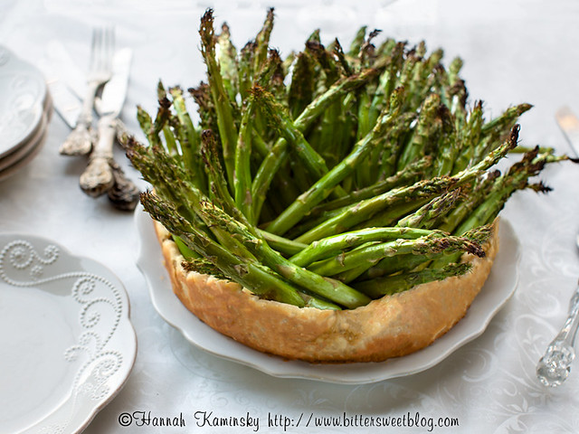 Asparagus Crown Roast