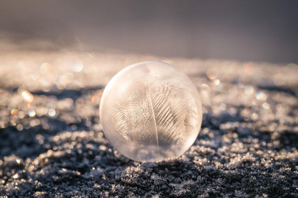 Frosty bubble