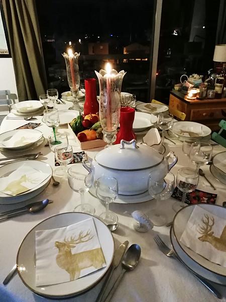 table de Thanksgiving 1