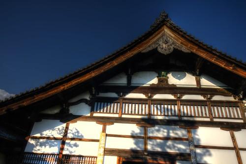 22-12-2020 Kyoto, Ken-nin-ji Temple in aftetnoon (2)