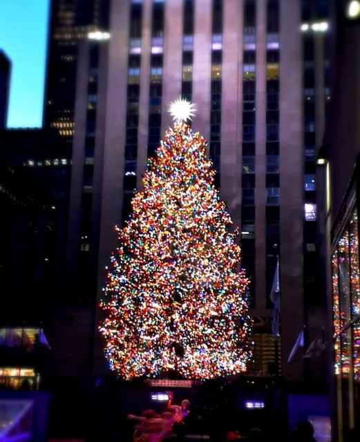 Rockerfeller Christmas Tree. 2020