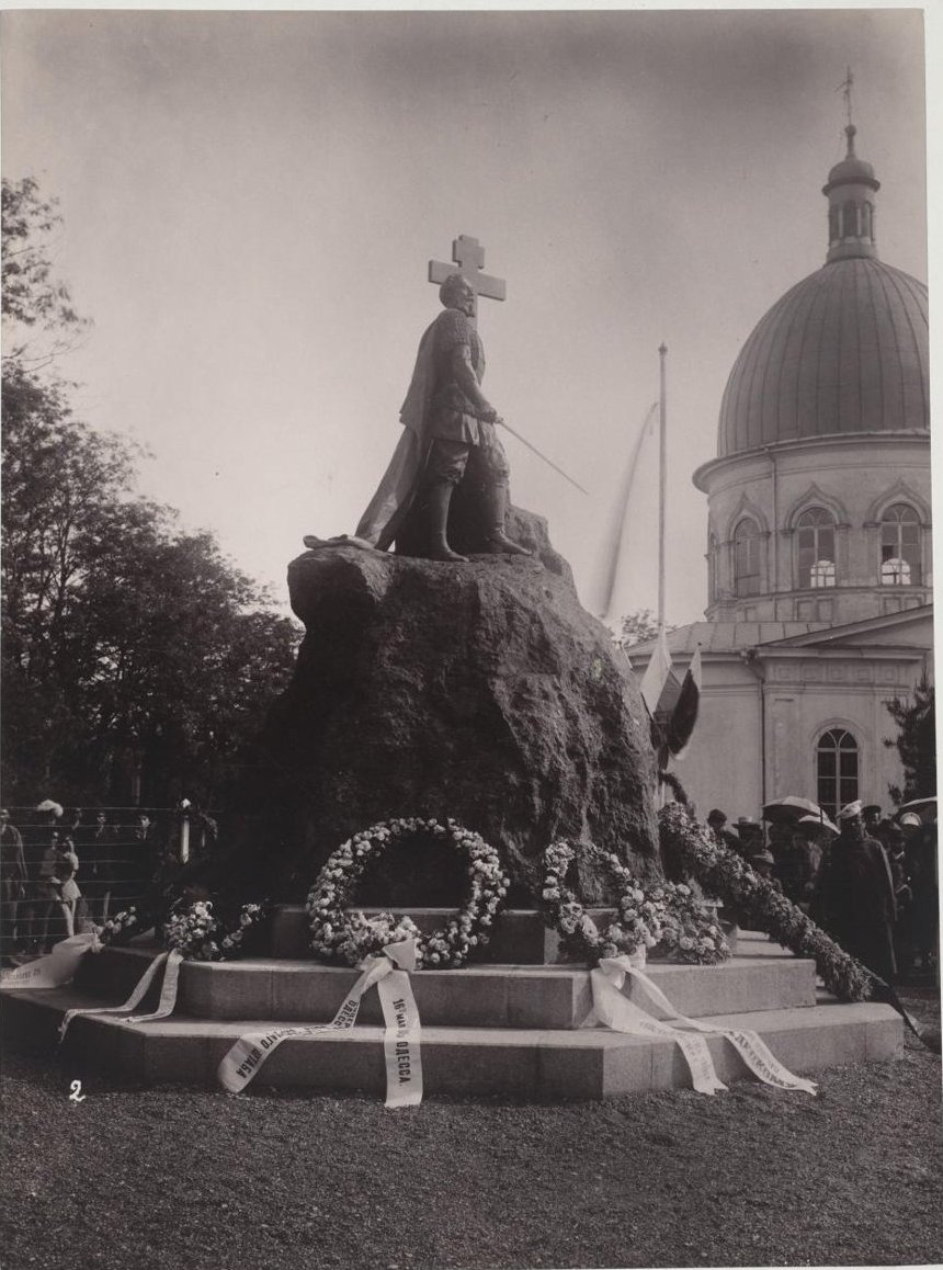 Открытие памятника генералу Ф.Ф. Радецкому в Одессе 16 мая 1891 года. Грабяж М.Р.
