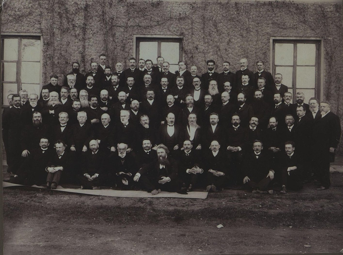 Выборщики в Думу от города Одессы. Старосельский Г., Гриншпун Б. 1906 г.