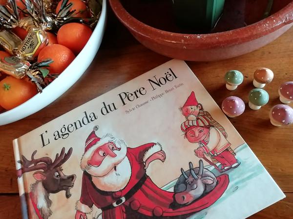 l'agenda du Père Noël