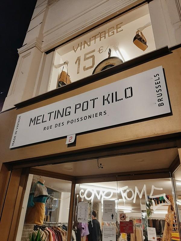 Fachada Melting Pot Kilo Bruselas