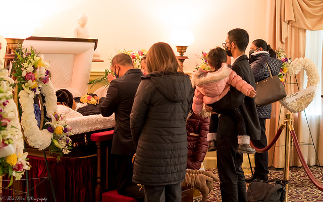 My Mother Lu Yung's Funeral Services