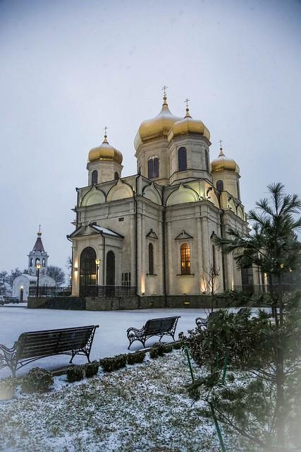 10 января 2021, В Казанском кафедральном соборе Ставрополя прошел Рождественский хоровой концерт