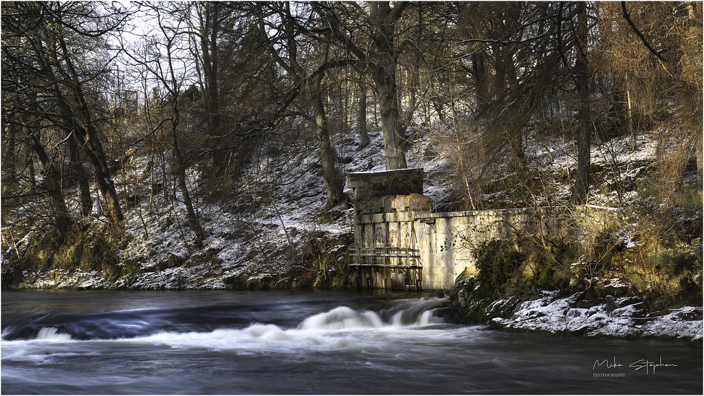 Winter, River Don