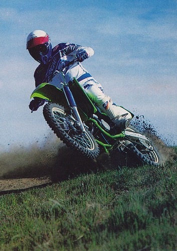 1988 Kawasaki KX125 - Cycle World  Ron Hussey Pic | by Tony Blazier