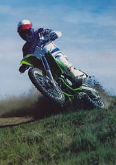 1988 Kawasaki KX125 - Cycle World  Ron Hussey Pic