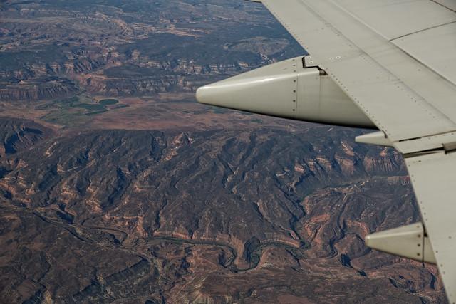 An Unknown River Flowing Through Colorado