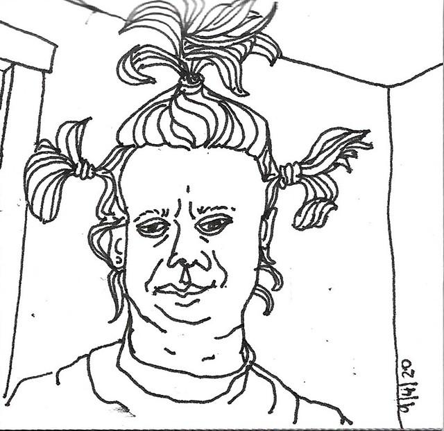 2020.09.04 Corona Hair