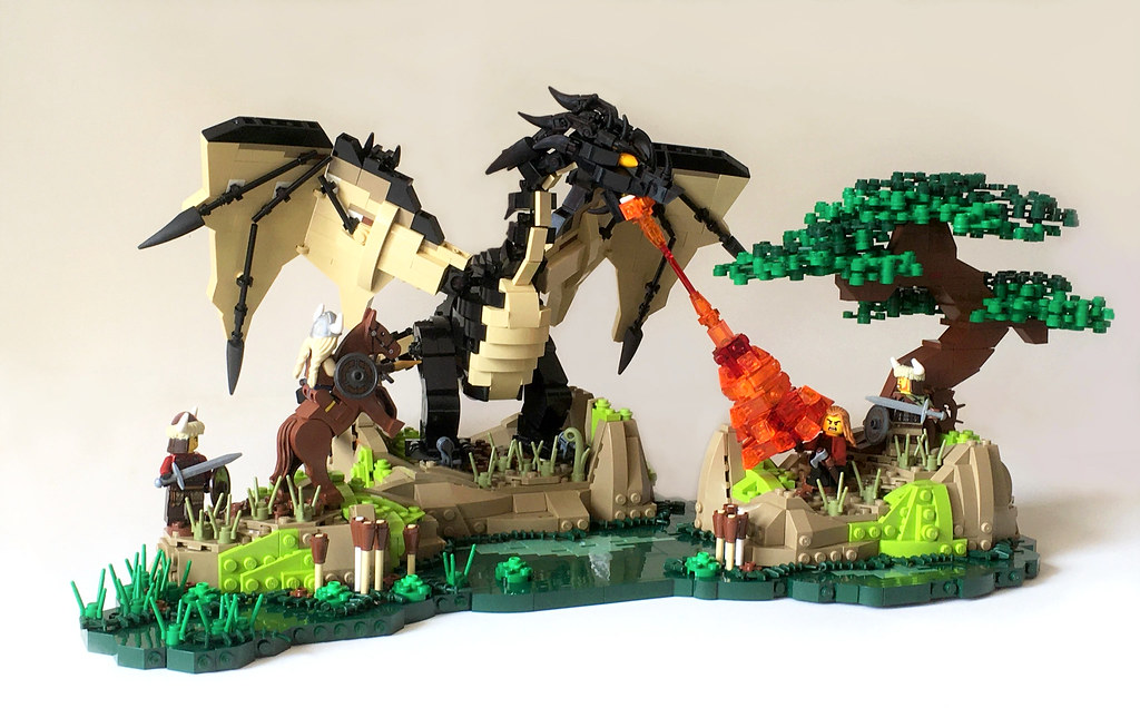 The Black Dragon, Svart Dyr