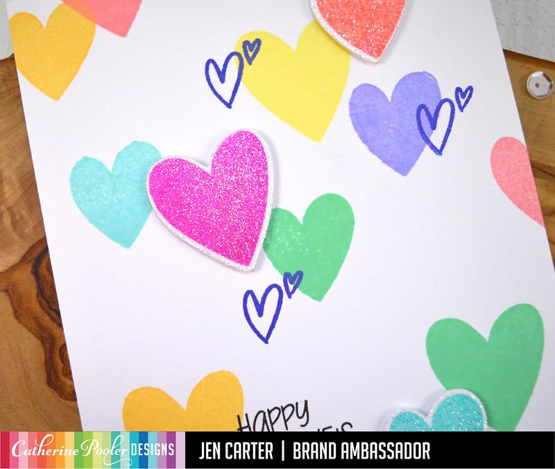 Love-N-Hearts Jen Carter Hip Hearts Valentines Closeup 1