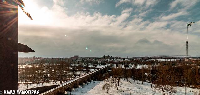 panoramica desde jardines de la merced