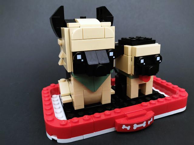LEGO BrickHeadz German Shepherd (40440)