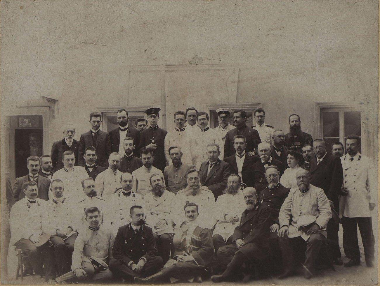 Чиновники Канцелярии Одесского градоначальника. 1906-1907 гг.