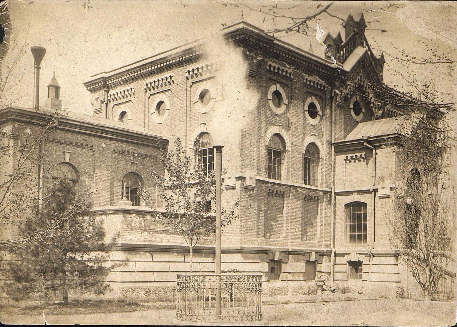 Главное машинное здание Одесского городского водопровода. 1904-1905 гг.
