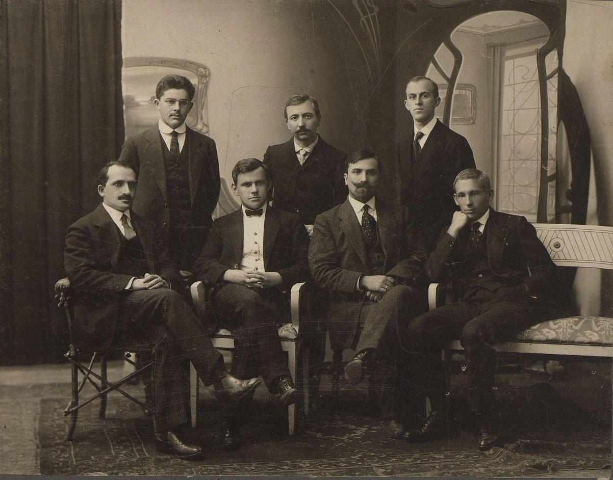 Выпускники медицинского факультета Одесского университета. 7 сентября 1913