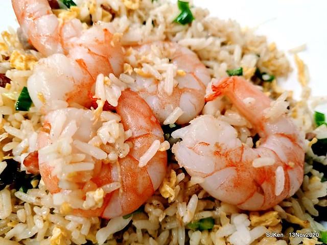 HK style fried rice at 「南港燒臘殿」, Taipei, Taiwan, SJKen, Nov 13, 2020.