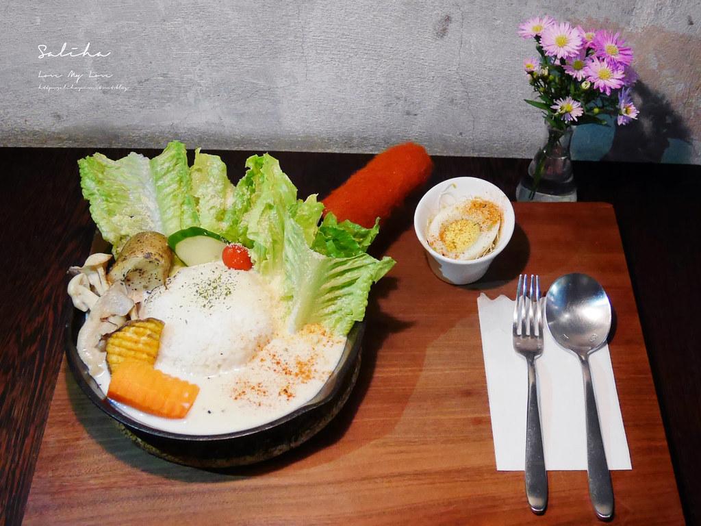 淡水老街美食推薦之間茶食器素食餐廳蔬食好吃創意披薩義大利麵咖啡廳甜點下午茶 (5)
