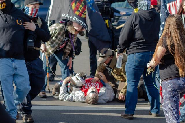 Post Insurrection Trump Rally