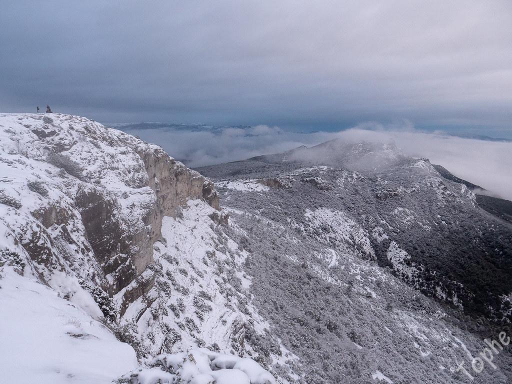 Mont Aurélien enneigé 10 janvier 2021