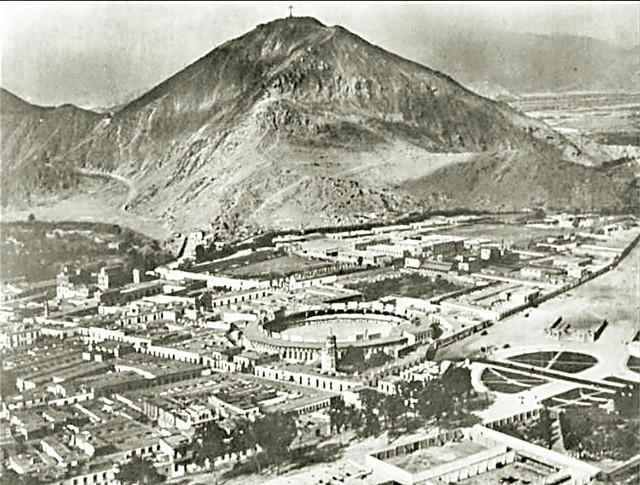 Lima - Perú, ca 1890. Barrio del Rímac