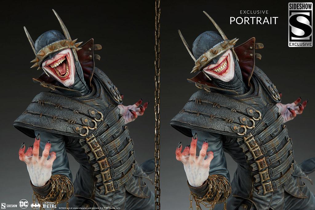 Sideshow Premium Format Figure系列 DC Comics【大笑蝙蝠俠】Batman Who Laughs 全身雕像 帶來毀滅的恐怖笑顏!